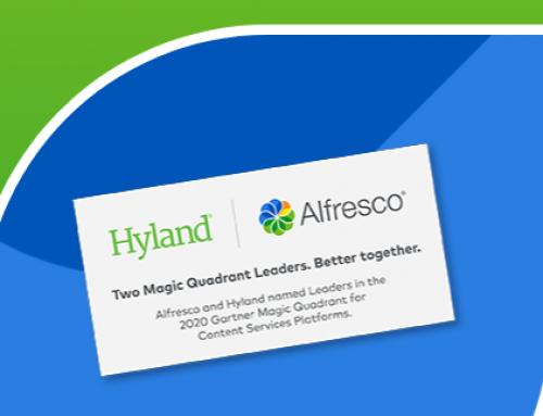 Alfresco被Gartner评选为2020年内容服务平台魔力象限报告的领导者